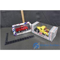 (2) Model Cars