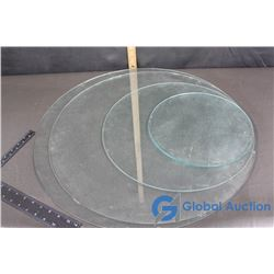 Glass Circular Tops