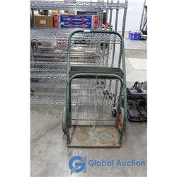 Metal Torch Cart