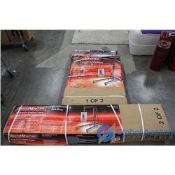 New in Box MotoMaster 2 Ton Hydraulic Engine Crane with Leveler