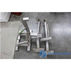 (2) Sets of Aluminum Ladder Jacks