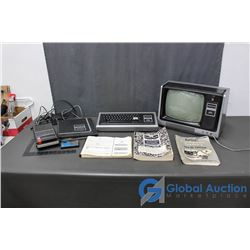 Radio Shack TRS-80 Micro Computer System And Micro Computer System & Manual