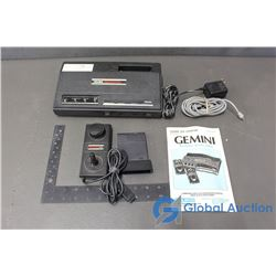 1983 Gemini Video Game System (Working, Games Need Cleaning)