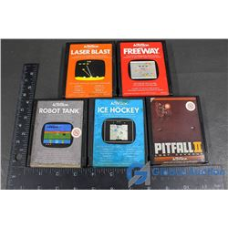(5) Activision Video Games (1981-82)