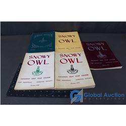 (5) Snowy Owl Canadian Army Staff College Books 1953-58