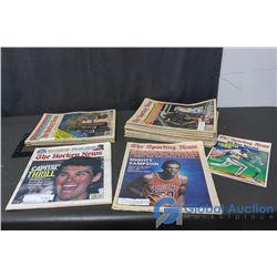 Vintage Sports Newspapers