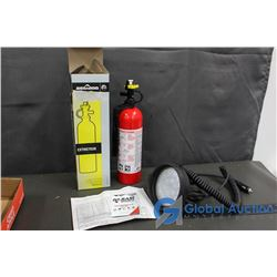 Ram Spot Light & Sea Doo Fire Extinguisher