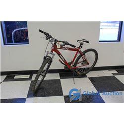 """Men's 26"""" Mongoose Mountain Bike (Red)"""