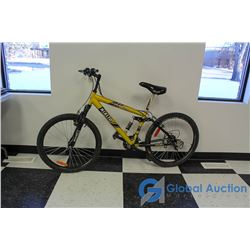 "Men's 26"" Rialto Mountain Bike (Yellow)"