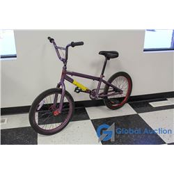 "Unisex 20"" BMX Bike (Purple)"