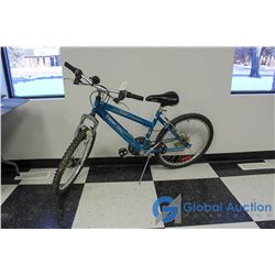 Women's 24  Tech Team Mountain Bike (Blue)