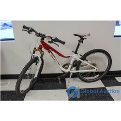 "Unisex 24"" Kona Mountain Bike (Red)"