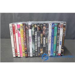 (20) DVD's