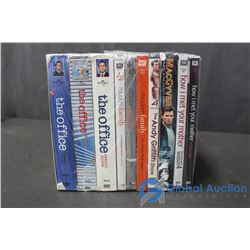 (10) TV Show Seasons DVD's