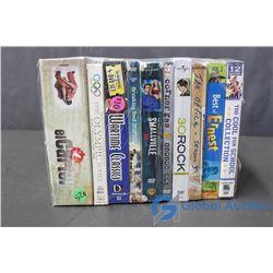 (10) TV Show Seasons DVD's