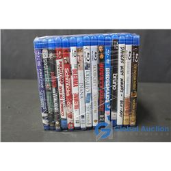 (15) Blu-Ray Movies
