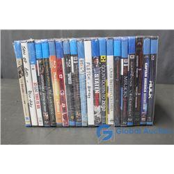 (20) Blu-Ray Movies
