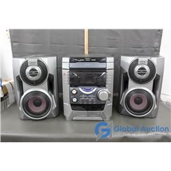Sony Stereo with 2 Speakers