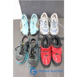 (4) Pairs of Ladies' Running Shoes