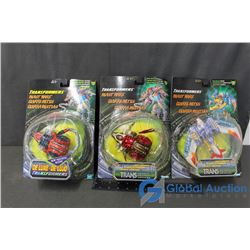 (3) Transformers Beast Wars Toys