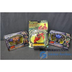 (3) Transformers Toys