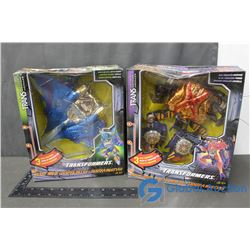 (2) Transformers Toys