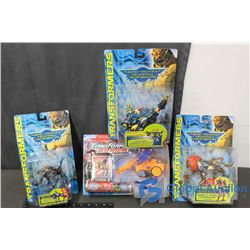 (4) Transformers Toys