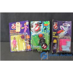 (3) Ghostbusters Toys