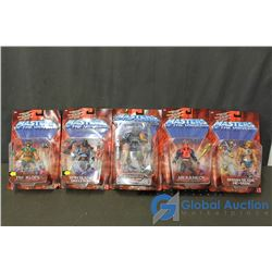 (5) He-Man Masters of the Universe Toys