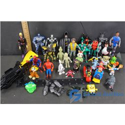 Assortment of Superhero & Related Toys