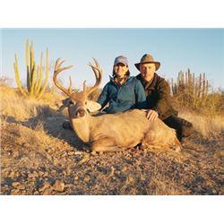 Celebrity Coues Deer Hunt with Tom Miranda