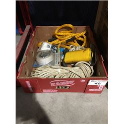 BOX OF ASSTD ROPE