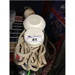BUNDLE OF MARINE ROPE & 2 VENTS