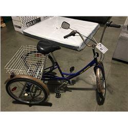TRI-RIDER 3 WHEEL BICYCLE