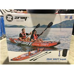 ZRAY 14' INFLATABLE DRIFT KAYAK