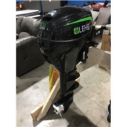LEHR PROPANE POWERED 9.9HP LONGSHAFT OUTBOARD MOTOR WITH ELECTRIC START REMOTE CONTROL