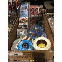 1 BOX ASSTD TOOLS HARDWARE & MISC. (B)