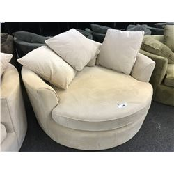 STYLUS BEIGE CUDDLE COUCH