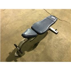 CYBEX 1600 COMMERCIAL ADJUSTABLE WEIGHT BENCH