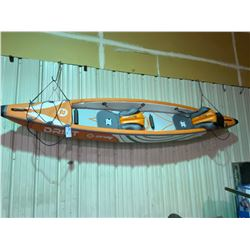 ZRAY 1214408 DRIFT 2 PERSON, INFLATABLE KAYAK WITH PUMP, PATCH KIT & CARRY BAG
