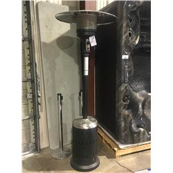 PARAMOUNT L10-SS-BK BLACK / STAINLESS STEEL PROPANE OUTDOOR PATIO HEATER