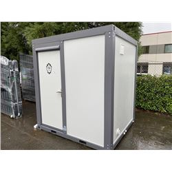 BRAND NEW MOBILE TOILET WITH SHOWER, TOILET AND SINK 6' X 7' X 7.5'