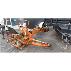 ORANGE KUBOTA 4690 BACKHOE ATTACHMENT