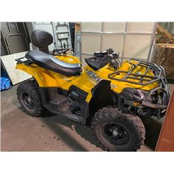 YELLOW CFORCE CF400AU-L GAS POWERED 4X4 QUAD
