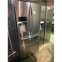SAMSUNG STAINLESS STEEL FRENCH DOOR 24.73 CU.FT. REFRIGERATOR WITH WATER AND ICE DISPENSER