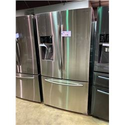 SAMSUNG STAINLESS STEEL FRENCH DOOR 22.5 CU.FT. REFRIGERATOR WITH WATER AND ICE DISPENSER