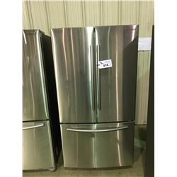 SAMSUNG STAINLESS STEEL FRENCH DOOR 26 CU.FT. REFRIGERATOR WITH SINGLE DRAWER ROLL OUT FREEZER