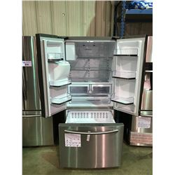 SAMSUNG STAINLESS STEEL FRENCH DOOR 26 CU.FT. REFRIGERATOR WITH WATER AND ICE DISPENSER