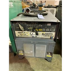 LINCOLN IDEALARC R3R-400 DC ARC WELDER