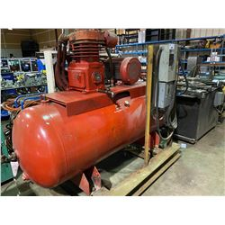 CURTIS 2 STAGE RED HORIZONTAL AIR COMPRESSOR